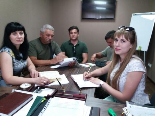 На Луганщині обговорили питання відстеження  відшкодування збитків